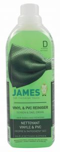 James Vinyl en PVC reiniger - Schoon en snel droog - D (reiniging)