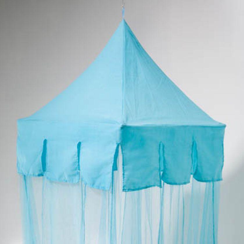 klamboe aqua blauw - type castle