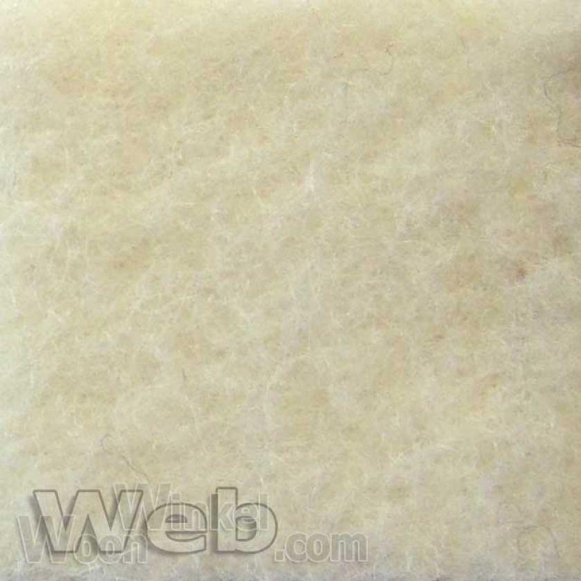 AaBe Orion ecru - zuiver scheerwollen deken - 420gr/m2 Merinowol