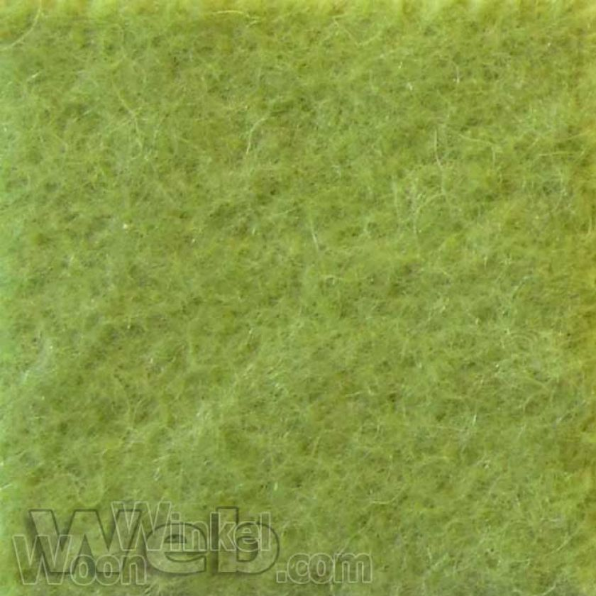 AaBe Orion limegroen - zuiver scheerwollen deken - 420gr/m2 Merinowol