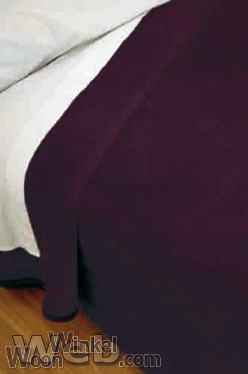 Acryl deken Millenium Super Soft - kleur 9 aubergine