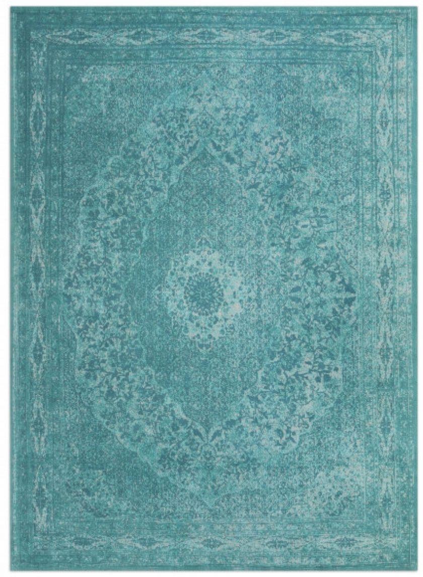 Tabriz - aqua | vintage chenille karpet