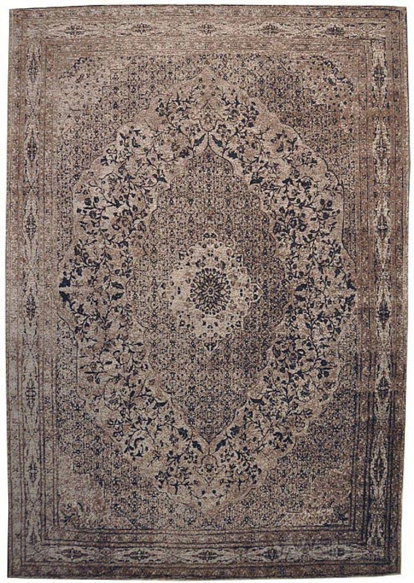 Tabriz -bruin | vintage chenille karpet