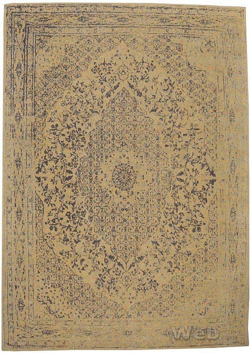Tabriz - geel | vintage chenille karpet