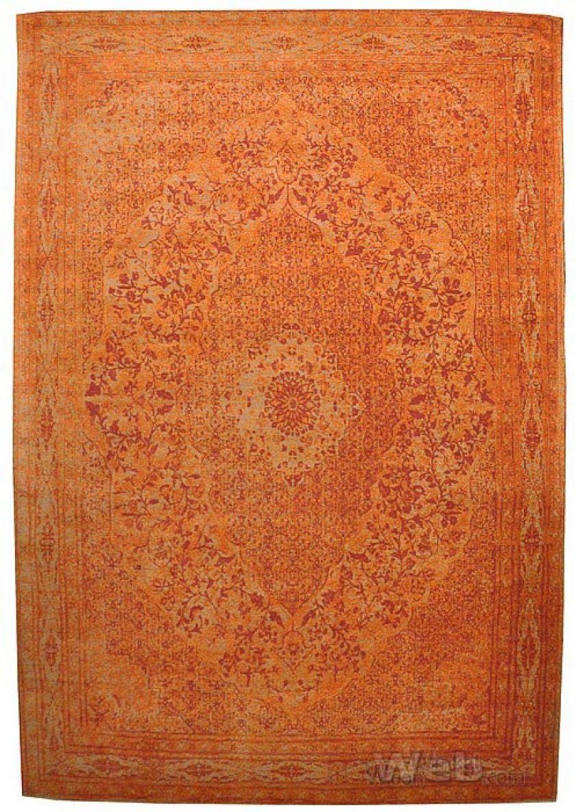 Tabriz -oranje | vintage chenille karpet