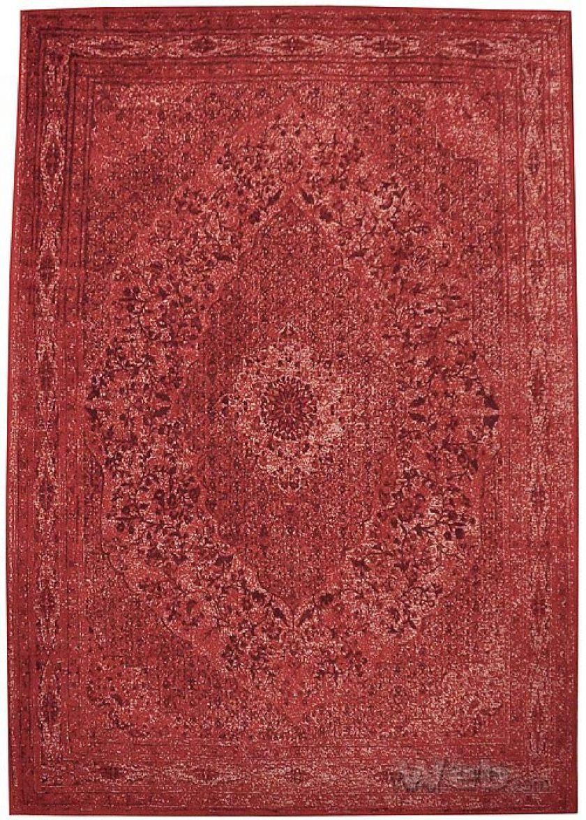 Tabriz - rood | vintage chenille karpet