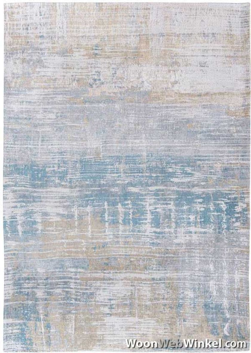 vintage vloerkleed Atlantic Streaks - 8718 Long Island blue