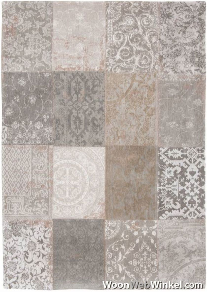 vloerkleed Patch Vintage Multi - 8782 Ghent Beige