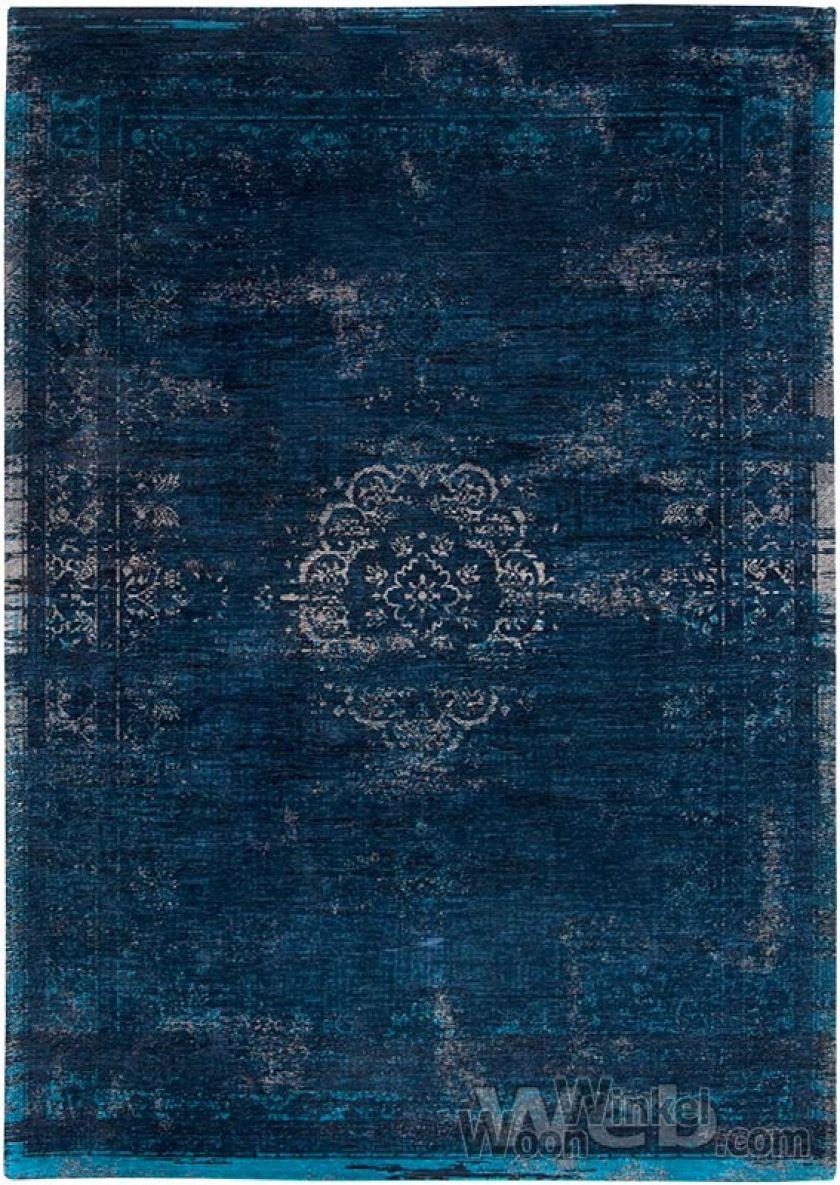 vintage vloerkleed Facing World | Blue Night 8254