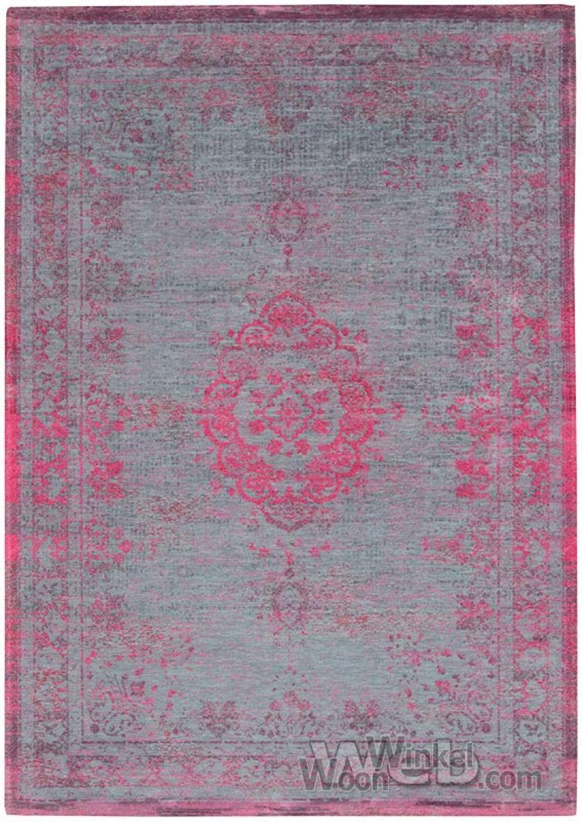 vintage vloerkleed Fading World - Medaillon | Pink Flash 8261