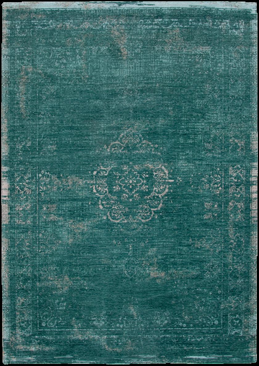vintage vloerkleed Fading World - Medaillon | Jade 8258